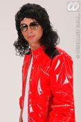 Michael Jackson pruik king of pop